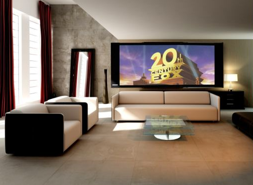 """New design projections screens for living rooms"" by DesignScreenHD"